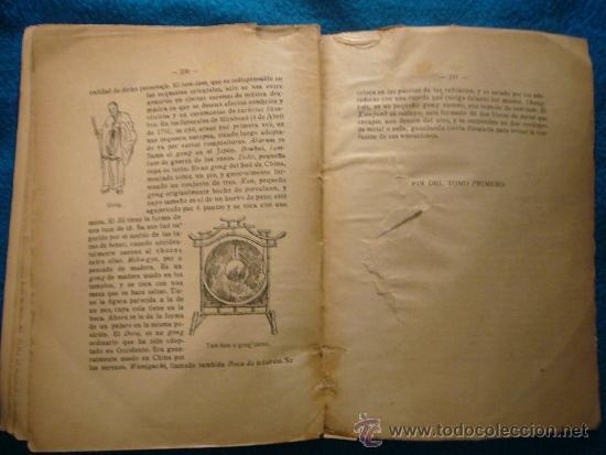 Libros antiguos: EUSEBIO BOSCH HUMET: - ORGANOGRAFIA DE TODOS LOS INSTRUMENTOS MUSICALES - (MADRID, 1916) - Foto 5 - 39023157