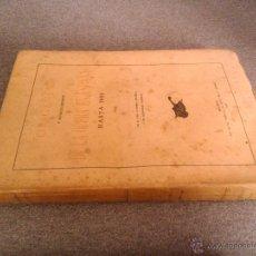 Libros antiguos: ORIGENES Y ESTABLECIMIENTO DE LA OPERA EN ESPAÑA HASTA 1800 D. EMILIO COTARELO Y MORI 1917. Lote 39943135