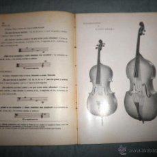 Libros antiguos: CONSERVATORIO DEL LICEO - TEORIA-SOLFEO - AÑO 1930 - BELLAS LAMINAS.. Lote 42288748