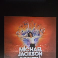 Libros antiguos: MICHAEL JACKSON PROGRAMA IMMORTAL WORLD TOUR CIRCO DEL SOL CIRQUE DO SOLEIL. Lote 42791776