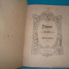 Libros antiguos: LIBRO DE PARTITURAS PARA PIANO, VON VICTOR FELIX, LEIPZIG C. F. PETERS, CIRCA 1910 O ANTERIOR. Lote 44017698