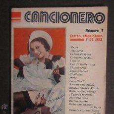 Libros antiguos: CANCIONERO - TRINI MOREN - EDITORIAL ALAS - AÑO 1933 - (L-27). Lote 44070013