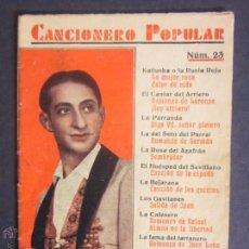 Libros antiguos: CANCIONERO - MARCOS REDONDO - EDITORIAL ALAS - AÑO 1932 - (L-29). Lote 44070038