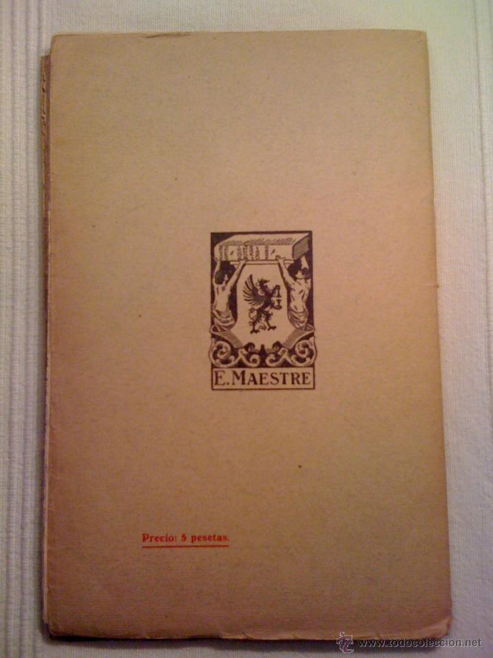 Libros antiguos: ANTIGUO LIBRO. LA VIDA DE LOS MÚSICOS ESPAÑOLES. CHAPÍ, FALLA, BRETÓN. AÑO 1925 - Foto 2 - 90477952