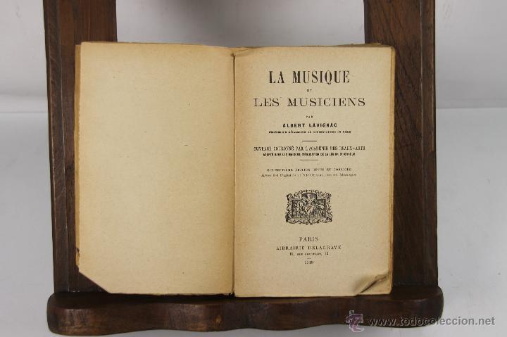 5505- LA MUSIQUE ET LES MUSICIENS. ALBERT LAVIGNAC. LIB. DELAGRAVE. 1919. (Libros Antiguos, Raros y Curiosos - Bellas artes, ocio y coleccion - Música)