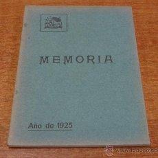 Libros antiguos: SOCIEDAD FILARMONICA DE OVIEDO MEMORIA 1925. ASTURIAS-OVIEDO-1926. Lote 46232040