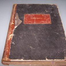 Libros antiguos: LIBRO DE MÚSICA PERSONALIZADO DE LA ÓPERA NORMA.. Lote 48509946