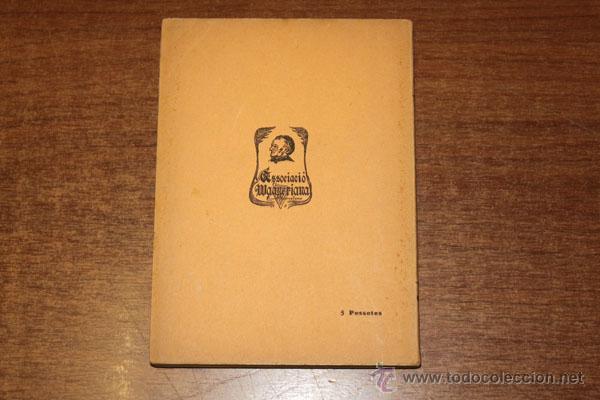 Libros antiguos: LA WALKIRIA PRIMERA JORNADA DE LA TETRALOGIA L'ANELL DEL NIBELUNG. WAGNER, RICART. 1910. - Foto 2 - 48516478
