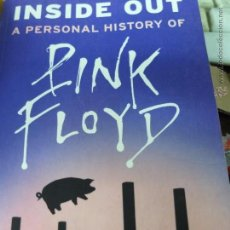 Libros antiguos: INSIDE A PERSONAL HISTORY OF PINK FLOYD-. Lote 49364333