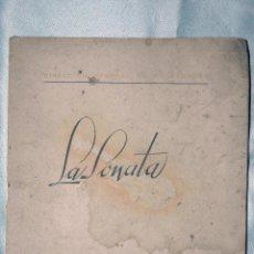 Libros antiguos: LA SONATA EN 6 CONCIERTOS, ATENEO DE MADRID,COMENTARIO GERARDO DIEGO 1949. Lote 49720788