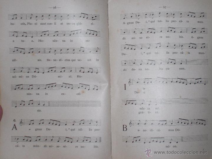 Libros antiguos: Vademecum musical religioso 1916 - Foto 3 - 50856911