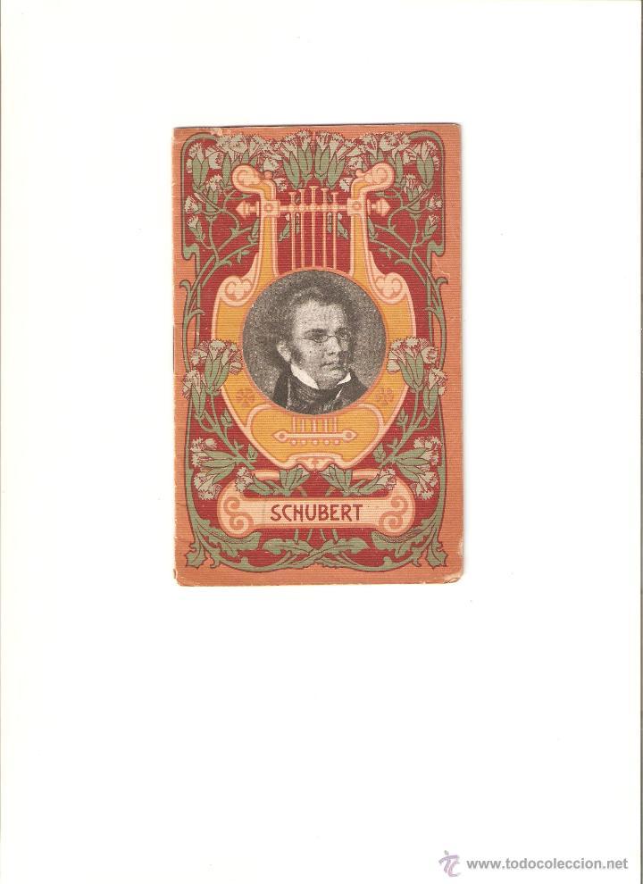 SHUBERT (Libros Antiguos, Raros y Curiosos - Bellas artes, ocio y coleccion - Música)