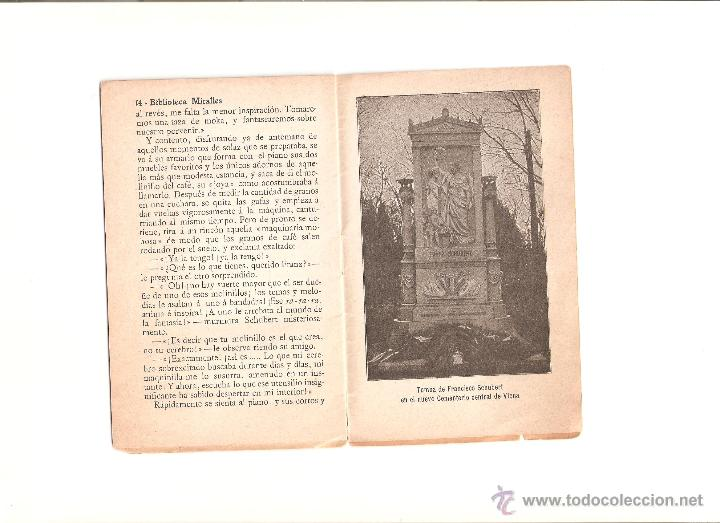 Libros antiguos: SHUBERT - Foto 2 - 51228699