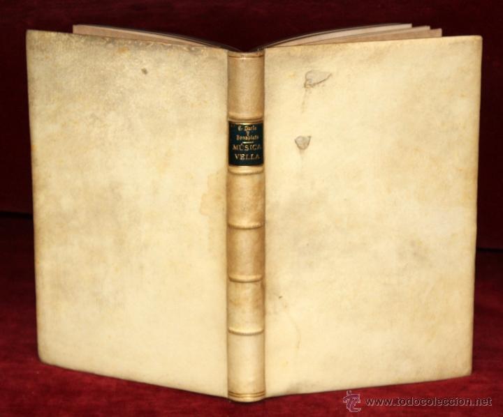 MÚSICA VELL POR EVELÍ DORIA BONAPLATA. TIP. (L'AVENÇ, BARCELONA, 1896) (Libros Antiguos, Raros y Curiosos - Bellas artes, ocio y coleccion - Música)