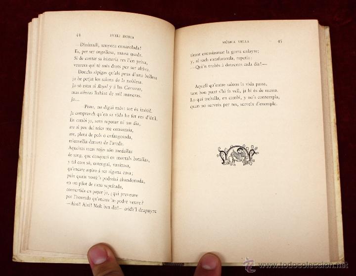 Libros antiguos: MÚSICA VELL POR EVELÍ DORIA BONAPLATA. TIP. (LAvenç, Barcelona, 1896) - Foto 3 - 51260034