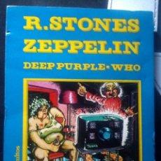 ALBUM Rock Comix 1976. Rolling Stones, Led Zeppelin, Deep Purple, The Who.