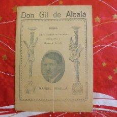 Libros antiguos: DON GIL DE ALCALÁ. MANUEL PENELLA. Lote 53540626