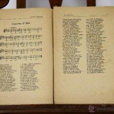Libros antiguos: 6781 - LOTE DE 7 EJEMPLARES DE CANÇONS CATALANES.(VER DESCRIP). VV. AA. 1926-1930.. Lote 50186708