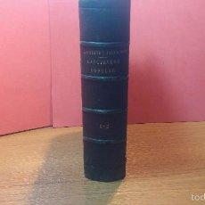 Libros antiguos: DOS LIBROS O DOS TOMOS EN UNO DE 1865, COPLAS Y SEGUIDILLAS. Lote 56653889