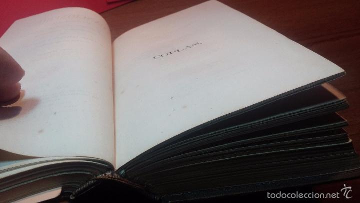 Libros antiguos: Dos libros o dos tomos en uno de 1865, Coplas y Seguidillas - Foto 9 - 56653889