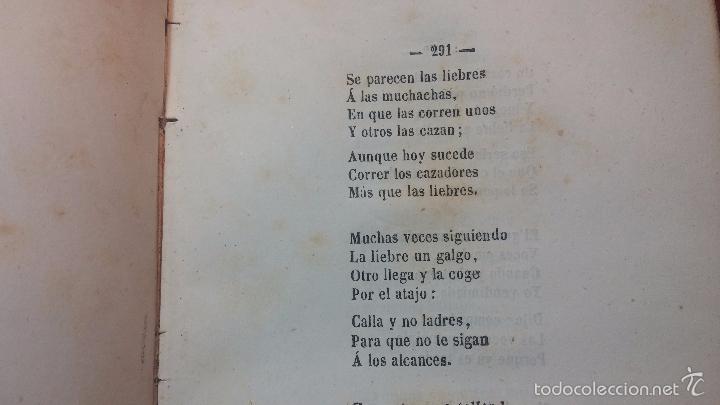 Libros antiguos: Dos libros o dos tomos en uno de 1865, Coplas y Seguidillas - Foto 14 - 56653889