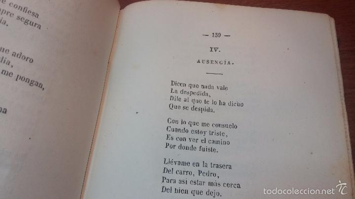 Libros antiguos: Dos libros o dos tomos en uno de 1865, Coplas y Seguidillas - Foto 26 - 56653889