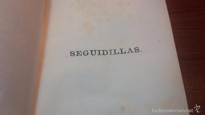 Libros antiguos: Dos libros o dos tomos en uno de 1865, Coplas y Seguidillas - Foto 29 - 56653889