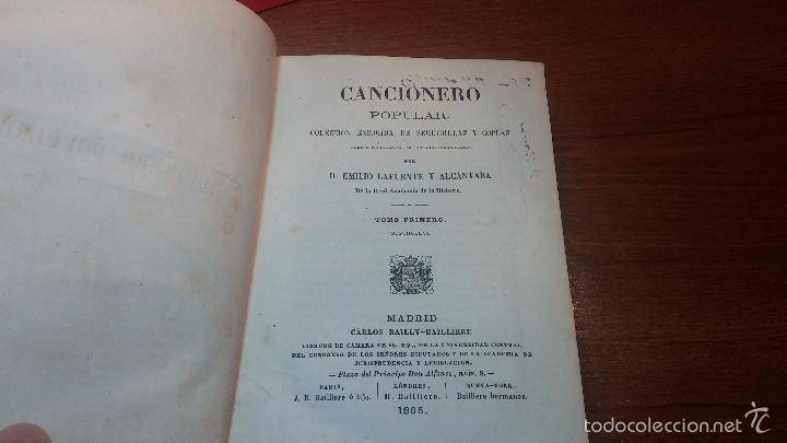 Libros antiguos: Dos libros o dos tomos en uno de 1865, Coplas y Seguidillas - Foto 31 - 56653889