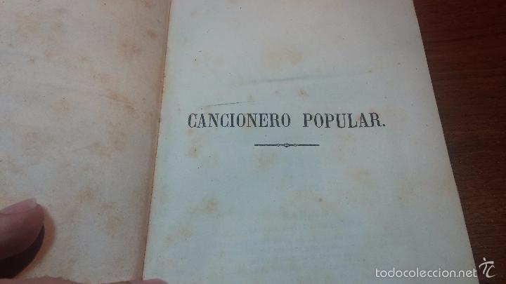Libros antiguos: Dos libros o dos tomos en uno de 1865, Coplas y Seguidillas - Foto 32 - 56653889