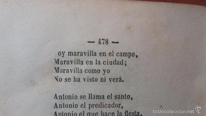 Libros antiguos: Dos libros o dos tomos en uno de 1865, Coplas y Seguidillas - Foto 33 - 56653889