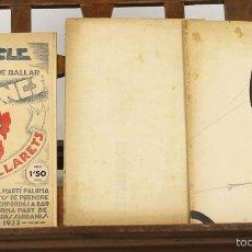 Libros antiguos: 7578 - OPUSCLE PER A APENDRE A BALLAR SARDANES. GALL GALLARETS. IMP. S. PUIG. S/F.. Lote 57105567