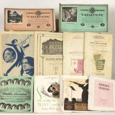 Libros antiguos: 7612 - 8 PROGRAMAS MUSICALES DE DIFERENTES SALAS DE TEATRO DE BARCELONA. 1917/1959.. Lote 57325431