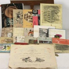 Libros antiguos: 7630 - LOTE DE 38 PROGRAMAS MÁS 1 CARTEL. GRAN TEATRO DEL LICEO DE BARCELONA(VER DESCRIP).. Lote 57383230