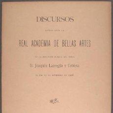 Libros antiguos: LARREGLA Y URBIETA, JOAQUÍN: D. MANUEL FERNANDEZ CABALLERO. INFLUENCIA DEL PIANISTA-COMPOSITOR. 1906. Lote 57414197