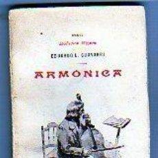 Libros antiguos: E BIBLIOTECA MIGNON. XXXVI. ARMONICA. EDUARDO L. CHAVARRI. VIUDA DE RODRIGUEZ SERRA. MADRID.. Lote 194072035