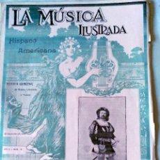 Libros antiguos: LA MÚSICA ILUSTRADA. 1899. Lote 57734173