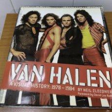 Libros antiguos: LIBRO VAN HALEN HISTORIA VISUAL 1978-198. Lote 59723947