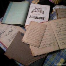 Libros antiguos: LIBROS DE PIANO ANTIGUOS. Lote 61269159