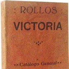 Libros antiguos: CATÁLOGO DE ROLLOS VICTORIA. (ROLLOS DE MÚSICA DE 88 NOTAS CON ACENTUACIÓN Y AUTOPEDAL). C 1920 . Lote 61946544