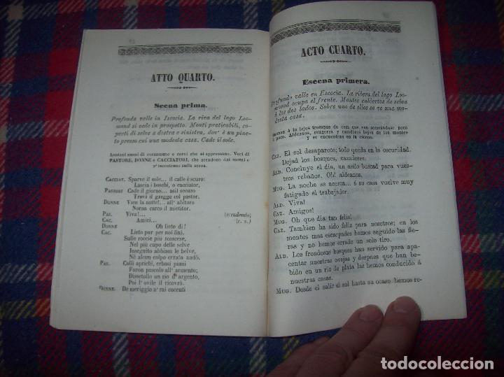 Libros antiguos: AROLDO.TRAGEDIA LÍRICA EN CUATRO ACTOS DE F.M. PIAVE. MÚSICA DEL MAESTRO VERDI. MALLORCA. 1863. - Foto 10 - 63424244