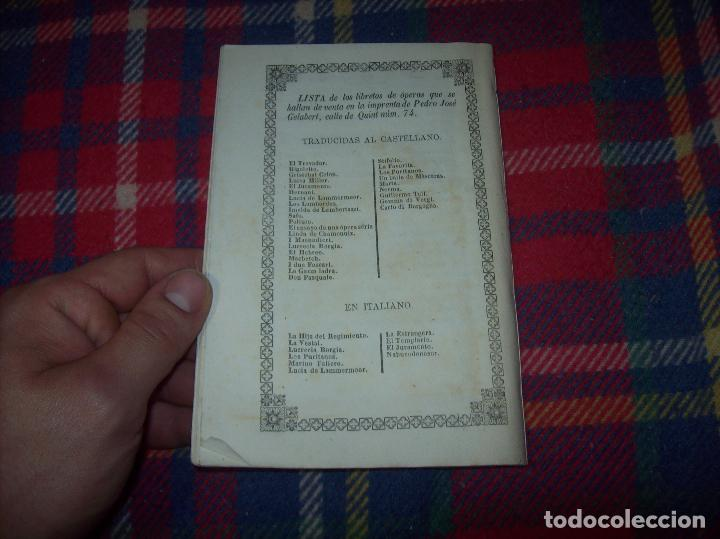 Libros antiguos: AROLDO.TRAGEDIA LÍRICA EN CUATRO ACTOS DE F.M. PIAVE. MÚSICA DEL MAESTRO VERDI. MALLORCA. 1863. - Foto 12 - 63424244