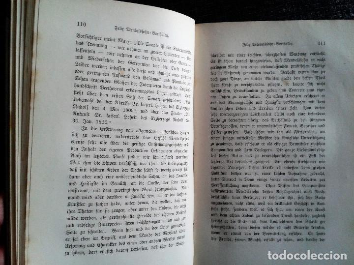 Libros antiguos: Neuere Meister / Los nuevos maestros, Otto Gumprecht (1883). Schubert / Mendelssohn / Schumann - Foto 3 - 65683930
