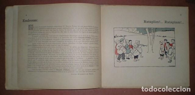 Libros antiguos: Freixas, Narcisa: Cançons D'infants. Segona Serie. Ilustracions de Torné Esquius - Foto 3 - 70671001