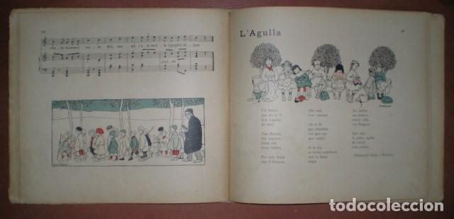 Libros antiguos: Freixas, Narcisa: Cançons D'infants. Segona Serie. Ilustracions de Torné Esquius - Foto 4 - 70671001
