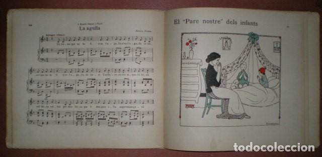 Libros antiguos: Freixas, Narcisa: Cançons D'infants. Segona Serie. Ilustracions de Torné Esquius - Foto 5 - 70671001