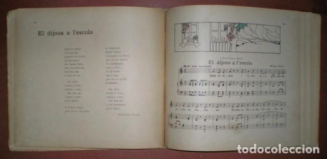 Libros antiguos: Freixas, Narcisa: Cançons D'infants. Segona Serie. Ilustracions de Torné Esquius - Foto 6 - 70671001