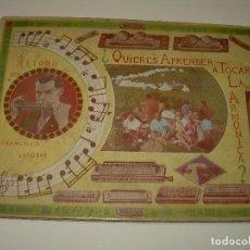 Libros antiguos: QUIERES APRENDER A TOCAR LA ARMONICA.....AÑO 1.944. Lote 71090877