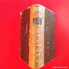 Libros antiguos: MEYERBEER Y SU TIEMPO, DE HENRI BLAZE DE BURY, PARÍS 1865, 396 PÁGINAS, HOLANDESA PIEL.. Lote 72006007