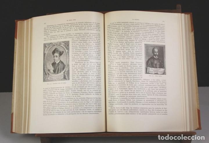 Libros antiguos: 5050-2 - HISTORIA DE LA MÚSICA. TOMOS I Y II. (VER DESCRIP). VV. AA. EDIT. LABOR. 1950. - Foto 5 - 75335555