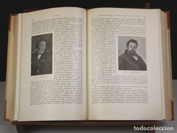Libros antiguos: 5050-2 - HISTORIA DE LA MÚSICA. TOMOS I Y II. (VER DESCRIP). VV. AA. EDIT. LABOR. 1950. - Foto 7 - 75335555